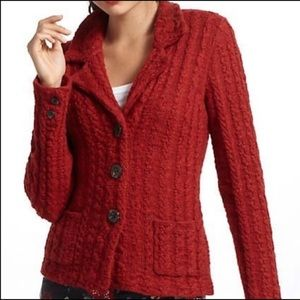 Sparrow Anthro Dankov Cable Knit Cardigan Sweater